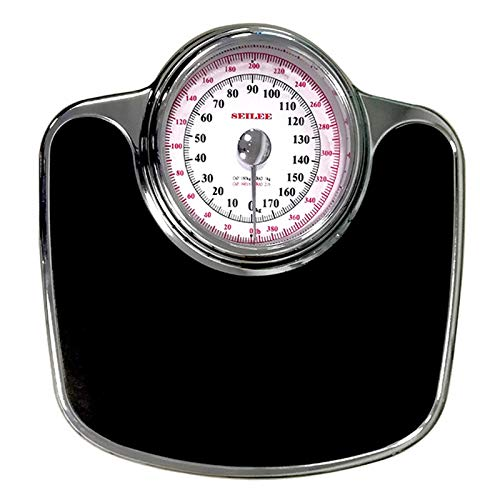 LIUU Mechanical Bathroom Scale,Body Weight Scale for People,Mechanical Scale 400lbs,Oversized Dial Easy Read,Precision,No-Slip