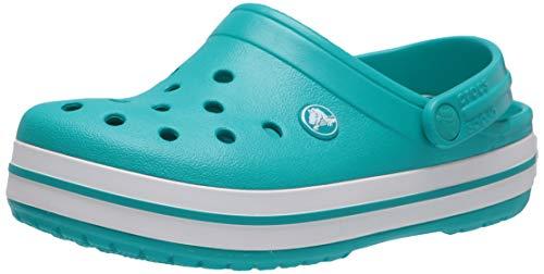 Crocs Crocband, Zuecos Unisex Adulto, color Latigo Bay/White, talla 41-42