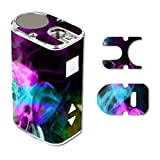 Decal Sticker Skin WRAP Colorful Color Smoke Blue Teal Pink White Green Yellow for Eleaf iStick 10W Mini