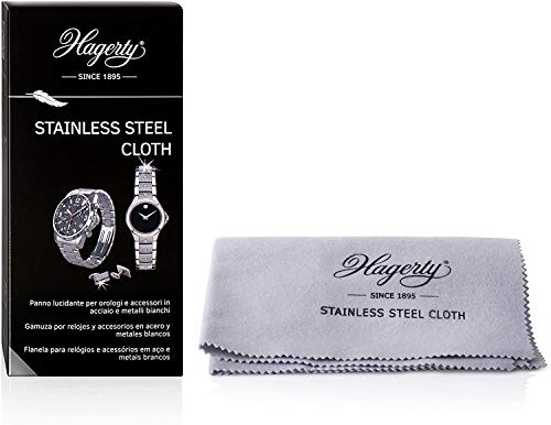 Hagerty Stainless Steel Cloth, 1er Pack