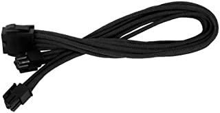 Silverstone Tek Sleeved Extension Power Supply Cable with 1 x 8-Pin to EPS12V 8-Pin Connector (PP07-EPS8B)