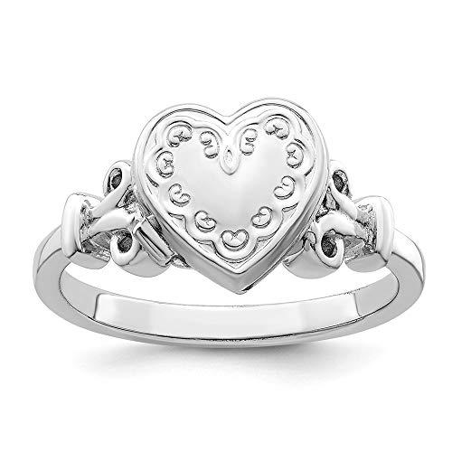 locket ring - 2