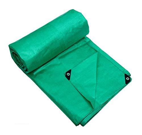 TTXP PE Grand Bâche Double Face imperméable Robuste extérieur Pare-Soleil Pluie Camion Couverture Solaire Coupe-Vent Cargo Tissu Orange Bleu et Vert (Color : Green, Size : 3X2M)