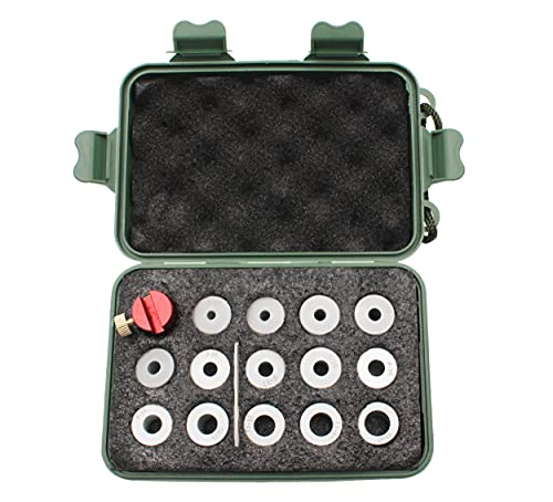 Lock-N-Load Comparator Body, Compatible with Any Set of Calipers, Measuring Cartridges from .17 to...