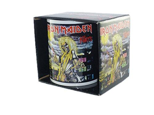 Unbekannt Iron Maiden - Keramik Becher Tasse - Killers - verpackt in einer Geschenkbox