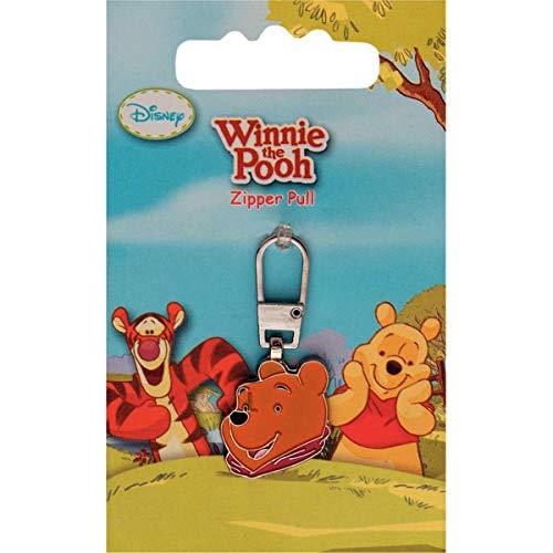 PRYM Disney Winnie Pooh hoofd Fashion ritssluiting trekker