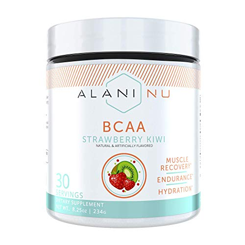 Alani Nu BCAA Branched Chain Essential Amino Acids, Muscle Recovery Vitamins for Post-Workout and Hy