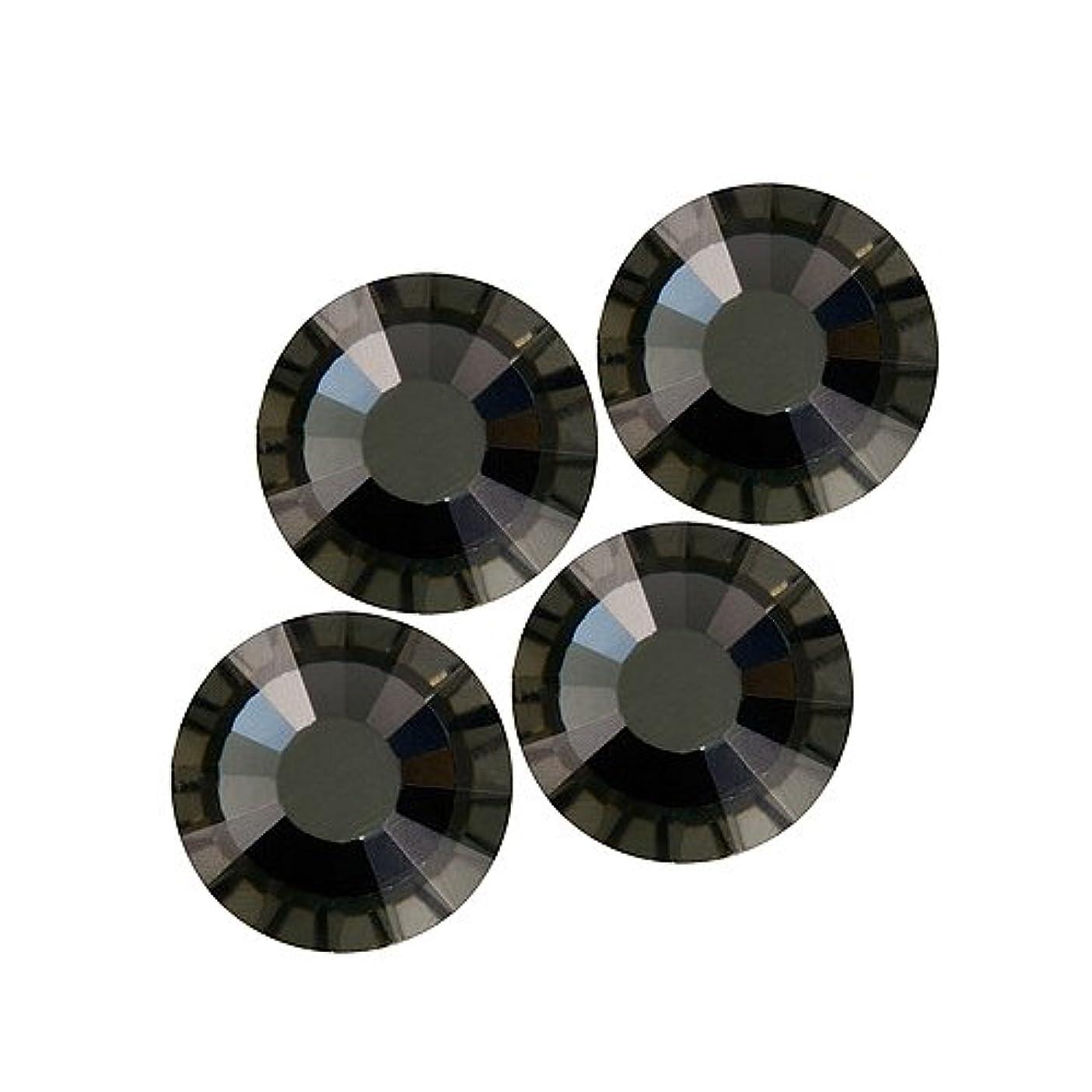 薄暗い短くする浸食バイナル DIAMOND RHINESTONE ブラックダイアモンドSS8 1440粒 ST-SS8-BKD-10G