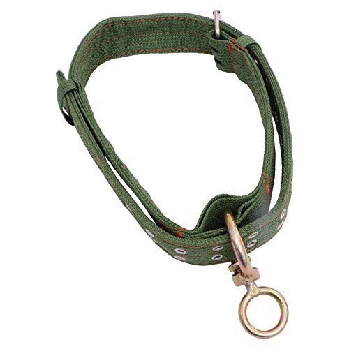 Cabilock - Collar ajustable para bovinos de vaca, doble grosor, nailon, diseño de vaca