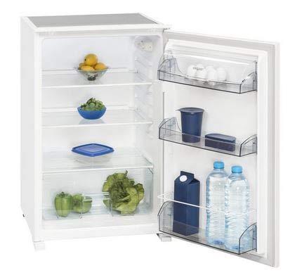 Exquisit Einbaukühlschrank EKS 131-1 RVA+ | Einbaugerät 138 L Nutzinhalt | weiß