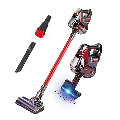 Affordable LFEWOX Cordless Handheld,Broom Vacuum Cleaner 2 in 1 Versatile Cyclone 19Kpa Powerful Suc...