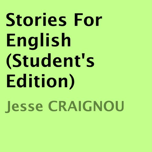 Stories For English (Student's Edition) audiobook cover art