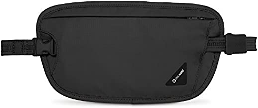 Pacsafe Coversafe X100 Anti-Theft RFID Blocking Waist Wallet, Black, One Size