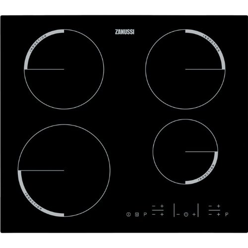 Zanussi ZEI6640FBV hobs - Placa (Integrado, indución eléctrica, Negro, Tocar, Parte superior delantera, 220-240V)