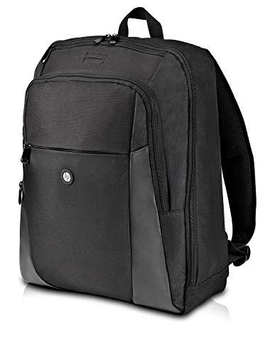 HP Essential Backpack 15.6' Backpack Black - Notebook Cases (Backpack, 39.6 cm (15.6'), 560 g, Black)