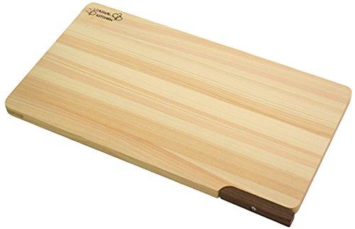 ダイワ産業 まな板 スタンド付き 食洗機対応 木製 ひのき 軽量 日本製 防カビ 36cm