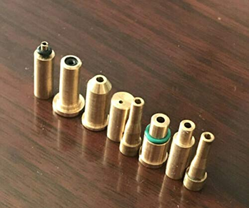 BAAQII 8 Stück Feuerzeug Gasfülladapterkappe Ersatzteil für S T Dupont Dunhill Kleid/ROLLAGAS Feuerzeug