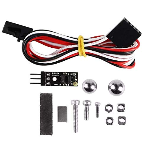 XUSHEN-HU 3D Printer Parts, 3D IR Filament Sensor Filament Material Run Out Detector Kit Upgraded MK2.5/MK3 To Mk2.5s/Mk3s For Prusa I3 MK3 3D Printer Parts Tools