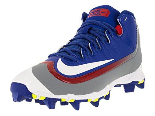 Nike Mens Huarache 2KFilth Keystone Mid Game Royal/University Red/Stealth/White Baseball Cleat 9 Men US