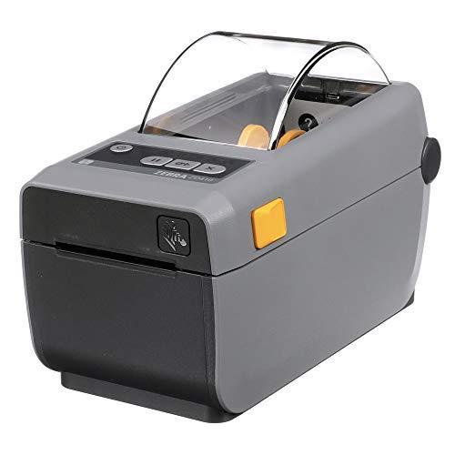 Zebra ZD410 - Impresora de escritorio inalámbrica térmica directa para etiquetas, recibos, códigos de barras, etiquetas y bandas de muñeca, ancho de impresión de 2 pulgadas, conectividad USB