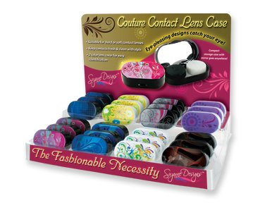 Suzanne's Designs Couture Contact Lens Case (Sold Individually)