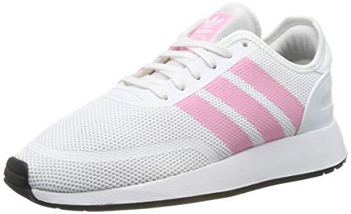 Adidas N-5923 J Zapatillas de Gimnasia Unisex Niños, Blanco (Ftwr White/Light Pink/Core Black Ftwr White/Light Pink/Core Black), 38 EU