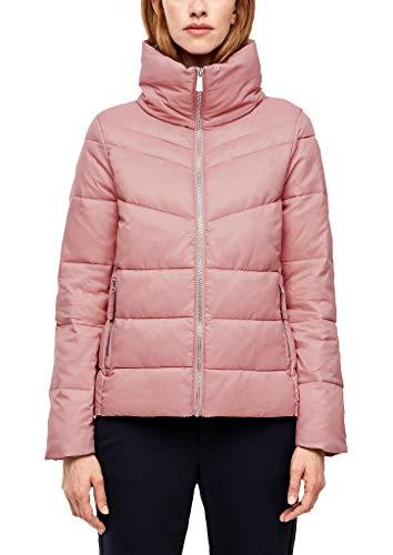s.Oliver Damen Puffer Jacket mit Stehkragen pink 42