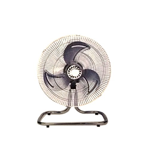 """Unique Imports Industrial Fan 18"""" Floor Stand Mount Shop Commercial High Velocity Oscillating Blower- 2 Year Warranty"""