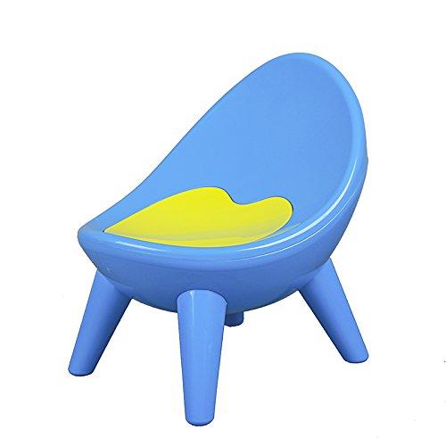 Dana Carrie Plastica Spessa Verde Baby BB Bambini sedie per Bambini Bambino Sgabello Piccola Sedia Baby Sedia Sgabello, Blu