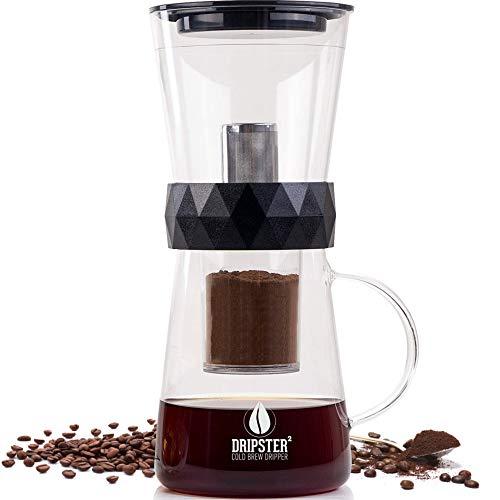 DRIPSTER² 2-in-1 Cold Brew Dripper (4 Tassen / 600ml), Cold Brew Maker für kaltgebrühten Kaffee und Tee