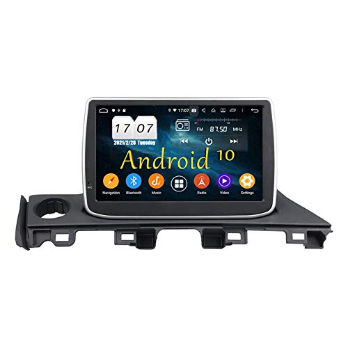 JIBO para Atenza 2017 Estéreo de Automóvil Reproductor Multimedia Android 10 Navegacion GPS Unidad Principal Pantalla Táctil HD Bluetooth Control Telefónico SWC DVD Receptor Video