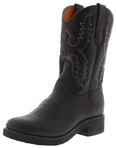 Sendra Boots Herren Cowboystiefel 11615 Cafe Westernreitstiefel Lederstiefel Braun 45 EU