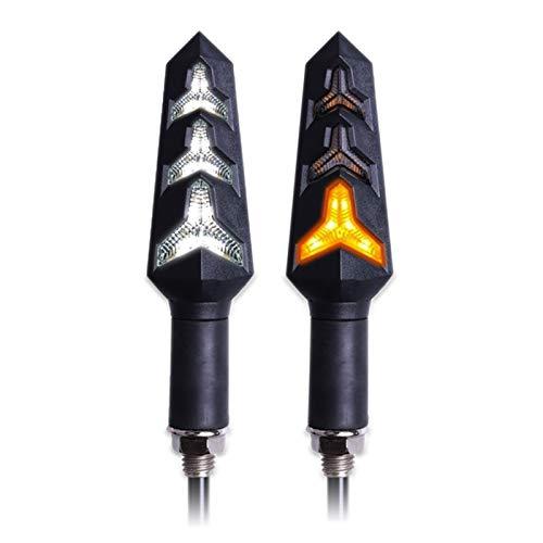 4 unids LED LED señal de giro de la señal de la motocicleta Señales de giro de relé incorporado Blinker Motocicleta de la señal de la señal de la señal de parada de la señal de la señal de la señal de