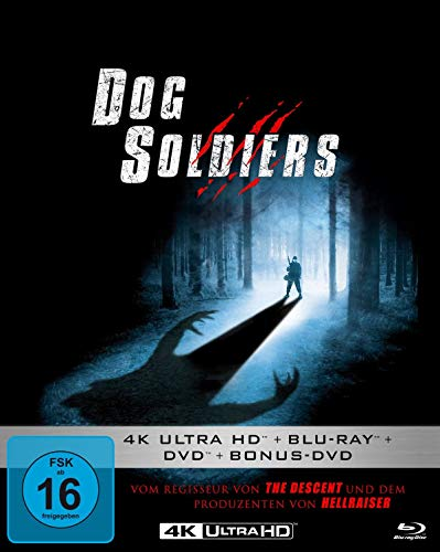 Dog Soldiers - Mediabook (4K Ultra HD) (+ Blu-ray 2D) (+ DVD) (+ Bonus-DVD)
