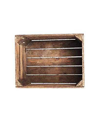 Kaemingk Natural Wooden Apple Crate