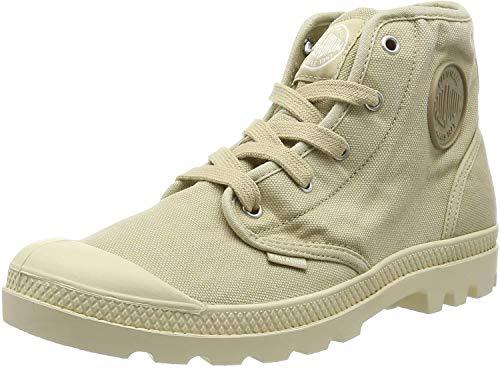 Palladium Damen Us Pampa Hi F Hohe Sneaker, Beige (Sahara F85), 37 EU