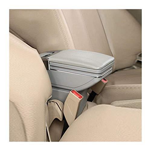 CHENGQIAN Reposabrazos Central para Hyundai Accent Reposabrazos Caja Central De Contenido De La Tienda Caja con Portavasos Cenicero En El Interior del Coche-Accesorios De Estilo-Piezas Reposabraz