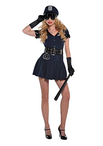 amscan Sexy Polizistin Kostüm (Klein)