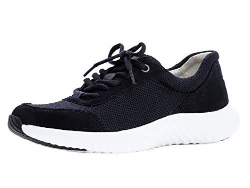 Gabor Damen Low-Top Sneaker 26.981.46, Frauen Halbschuh,Sportschuh,Schnürschuh,atmungsaktiv,Ocean,38.5 EU / 5.5 UK