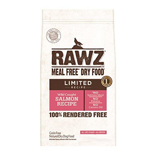 Rawz Limited Salmon Dry Dog Food 3.5 LB Bag