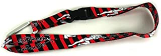 Don Ed Hardy Black and Red Women Lanyard