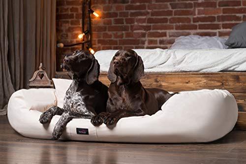 tierlando® Hundebett ARES aus robustem Polyester Hundesofa   XL XL+ XXL XXXL   110 125...