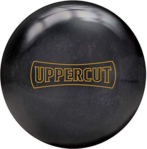 Brunswick Uppercut 15lb, Black/Gold Sparkle