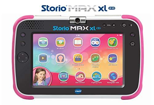 Vtech Storio MAX XL 2.0 Multifunktionstablett, Pink (80-194657)