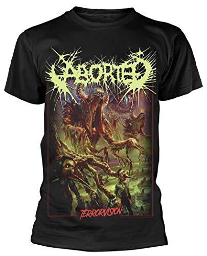 Abortado - Camiseta Terrorvisión - negro - Large
