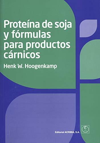 Proteína de soja y fórmulas para productos cárnicos