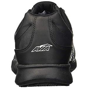Avia Men's Avi-Skill Food Service Shoe, Black/Black, 10.5 Medium US