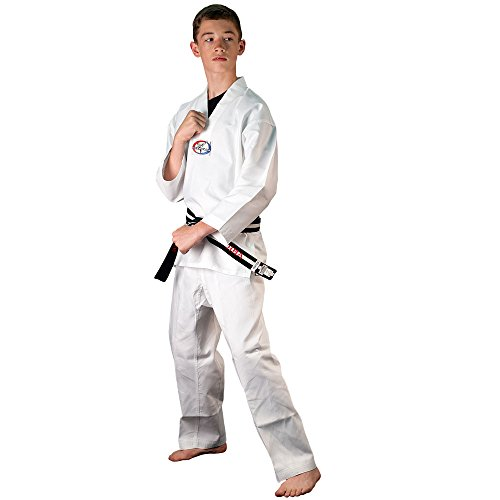 Tiger Claw 6 OZ. Ultra Light Weight Tae Kwon Do (TKD) - Size 00