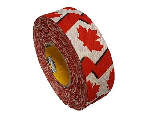 Schlägertape Profi Cloth Hockey Tape 25mm f. Eishockey Canadian Flag, 18 m