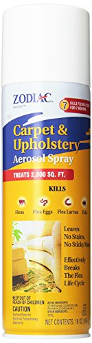 Zodiac Carpet & Upholstery Aerosol Spray, 16-ounce